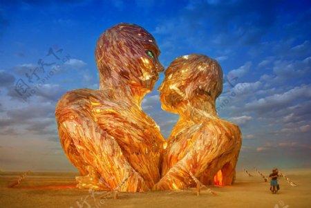 人体艺术雕塑