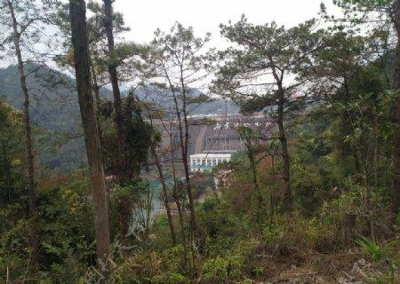 新丰江水电站下游
