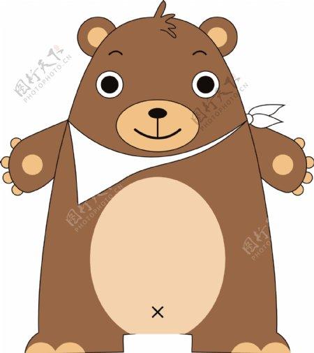 小熊卡通形象设计