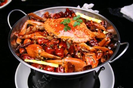 锅仔香辣蟹