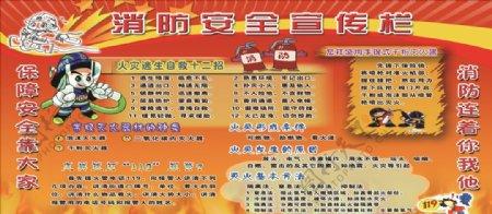 消防安全消防演示消防宣传