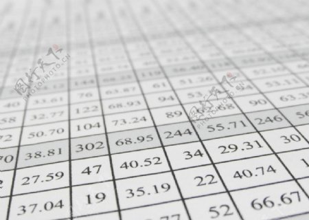 Excel数据表