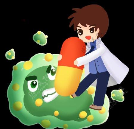 医生病毒细菌