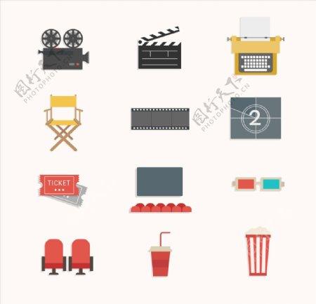电影图标icon设计