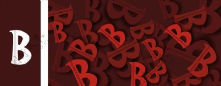 字母C背景英文字母欧式风格