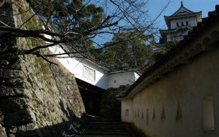 日本古城旅游摄影