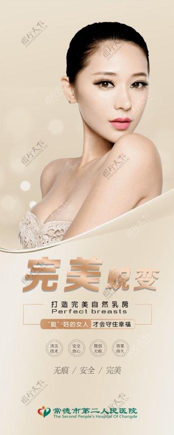 乳房蜕变海报