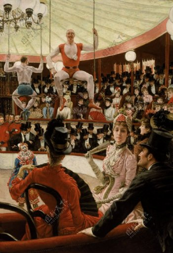 詹姆斯提索油画作品