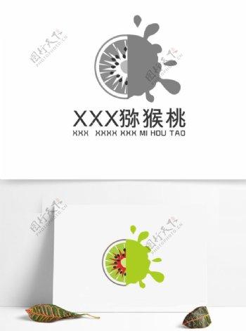 猕猴桃logo商标