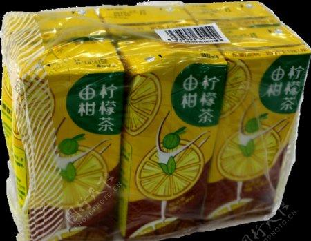 由柑柠檬茶饮料色素纸盒包