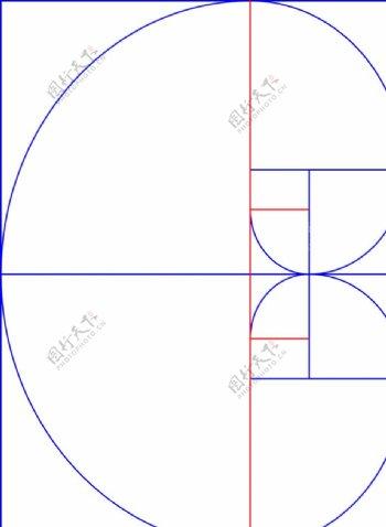 黄金网格AI格式横竖版原图A4