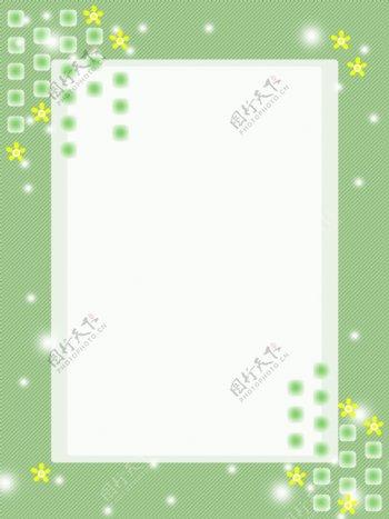绿色清新底纹边框背景