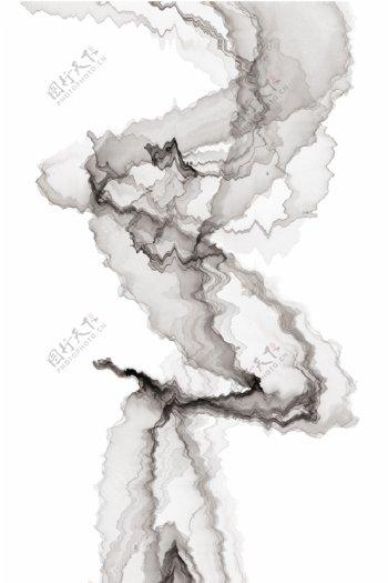 水墨山水玄关装饰画意境山水画