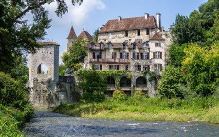 欧洲中世纪欧式风格城堡教堂