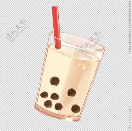 手绘奶茶图片