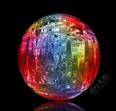 好看的玻璃球