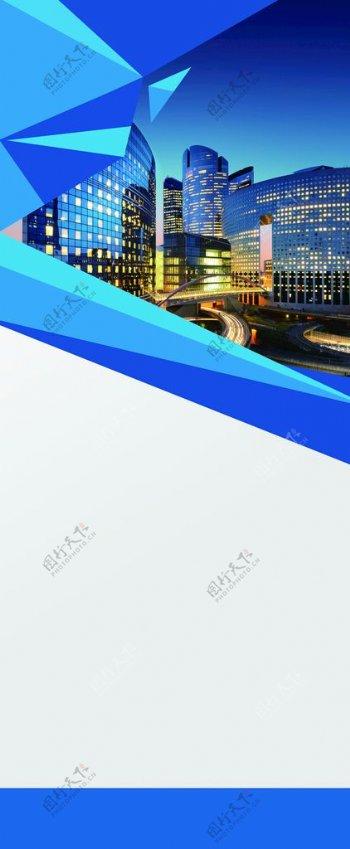 豪华背景蓝色科技背景