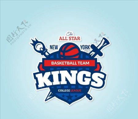 篮球队徽章
