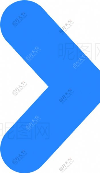 蓝色箭头图片