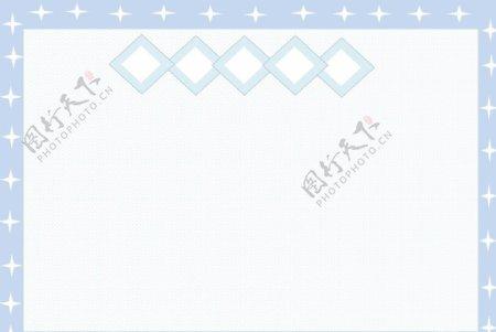 浅蓝星点边框背景图片