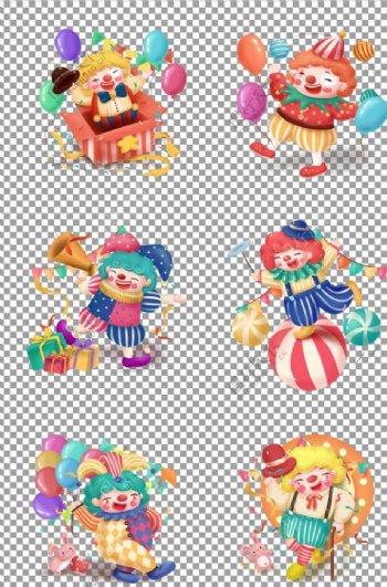 小丑形象图片