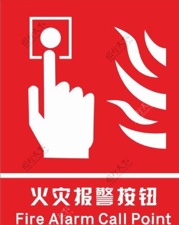 火灾报警按钮图片