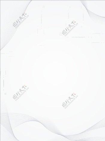 商务线条白色背景图片