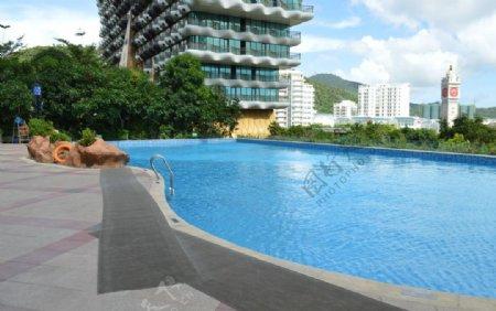 三亚星光森林泳池图片