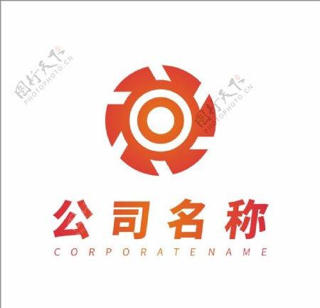 自媒体公司logo设计图片
