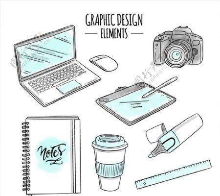 平面设计用品图片