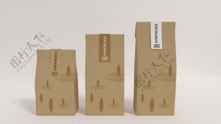 包装袋纸袋茶叶牛皮纸图片