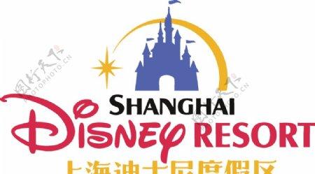 上海迪士尼乐园标志图片