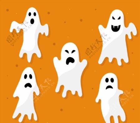 白色恐怖幽灵图片