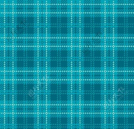蓝色英伦格子复古四方连续格纹图图片