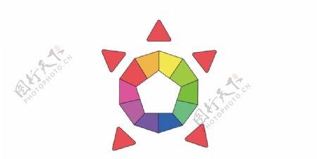 彩色乌龟图片