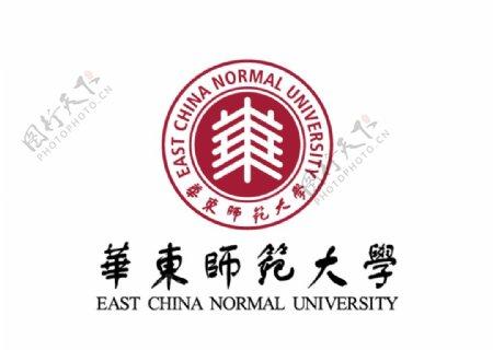 华东师范大学校徽LOGO图片