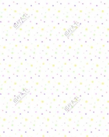 彩色小点四方连续图片