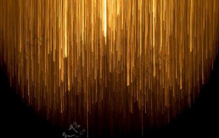 金色线条光线图片