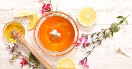 茶花柠檬蜂蜜图片