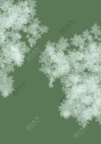 原创设计树林森林绿色壁纸背景图片