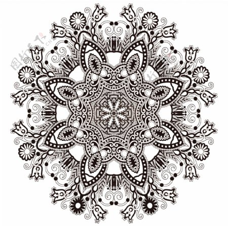刺绣花图片