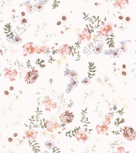 大牌花型花朵矢量手图片