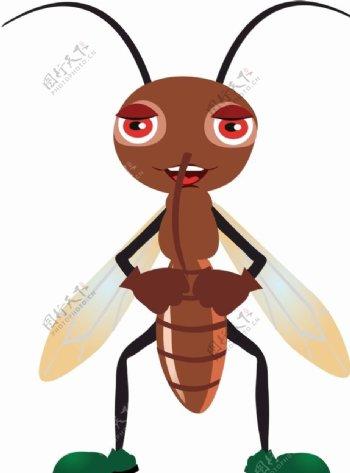 矢量蚂蚁图片