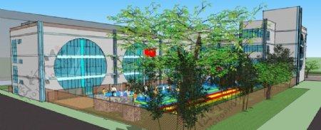 春波幼儿园大树图片