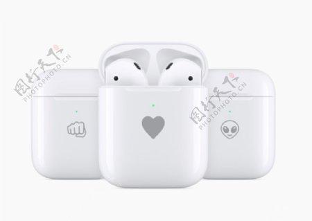 苹果蓝牙耳机图片