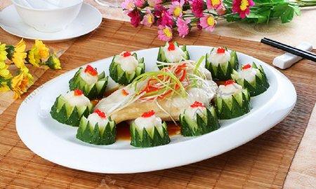 淮扬菜私房汁石斑鱼柳图片