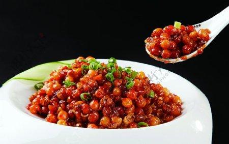 特色菜鱼香豌豆图片