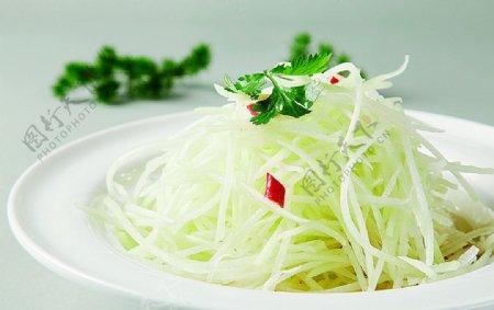 浙菜炝拌佛手爪图片