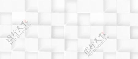 简约白色规则几何平铺背景图片