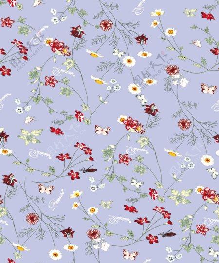 花型花朵花紋数码印花图片